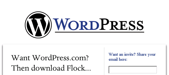 WordPress.Com Website