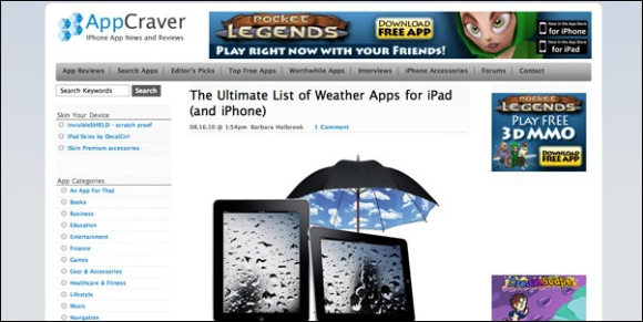 Best-iPad-iPhone-Apps-appcraver