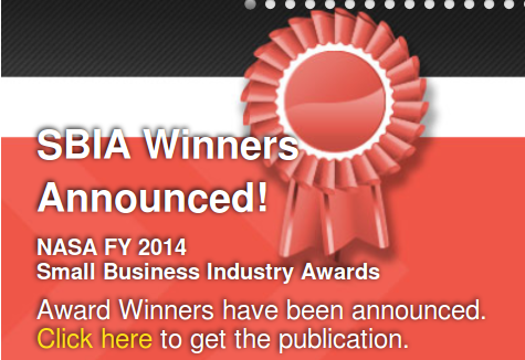 NASA Announces USA Small Business Industry Awards 2014!